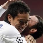 Champions League: l'Inter si rimette in corsa, sconfitto il CSKA Mosca. Decisivo Maurito Zarate