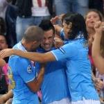 Champions League: il Napoli affonda il Sottomarino Giallo, segnano Hamsik e Cavani