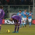 Serie A: un super Napoli sbrana la Fiorentina (doppio Cavani e Lavezzi). E ora Champions!