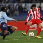 Le pagelle di Lazio-Atletico Madrid: Falcao meravigliao, assist e doppietta! Bene Adrian e Diego, Klose leone solitario