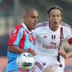 Le pagelle di Catania-Milan: Carrizo e Spolli monumentali, Gomez non si ferma mai! Deludono Aquilani ed Emanuelson