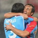 """Serie A, Catania-Milan 1-1: straordinaria intensità al """"Massimino"""". Apre Robinho, pareggia Spolli"""