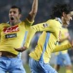 Le pagelle di Udinese-Napoli: Pinzi indomabile, Cavani si sveglia e graffia. Buio Pandev, Domizzi in bambola
