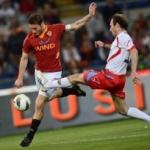 Le pagelle di Roma-Catania: Totti illumina, Carrizo in formissima. Buone prove di Kjaer, Gago e Marquinho