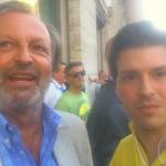 ESCLUSIVA: Intervista a Michele Plastino – Manifestazione Tifosi Lazio – Piazza Santi Apostoli