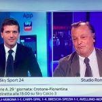 Francesco Vitale presenta Calciomercato Sliding Doors a Sunday Morning su Sky Sport 24